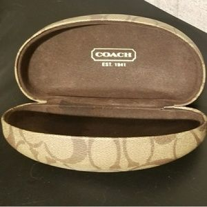 Coach Accessories - Authentic Coach Sunglasses Case